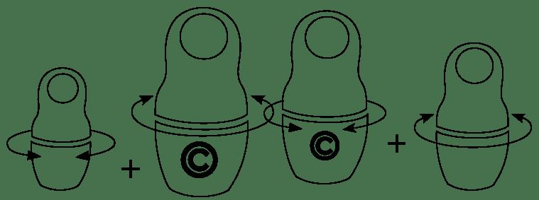 schéma de l'équipe modulable et agile de l'agence coletteandco