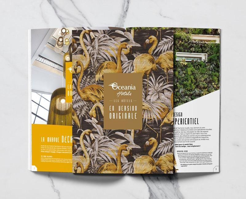 couverture du guide et double intérieure océania créée par Coletteandco