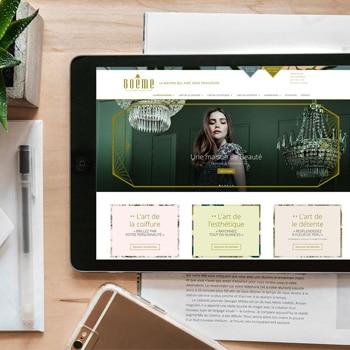 Site internet de la maison boeme crée par coletteandco