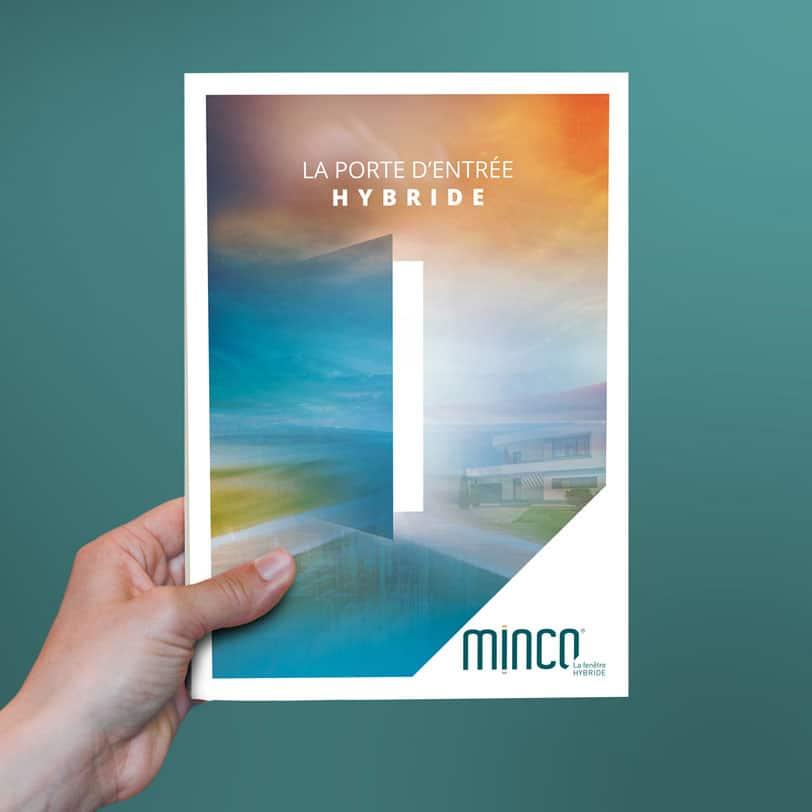 Couverture du catalogue Porte Minco crée par Coletteandco